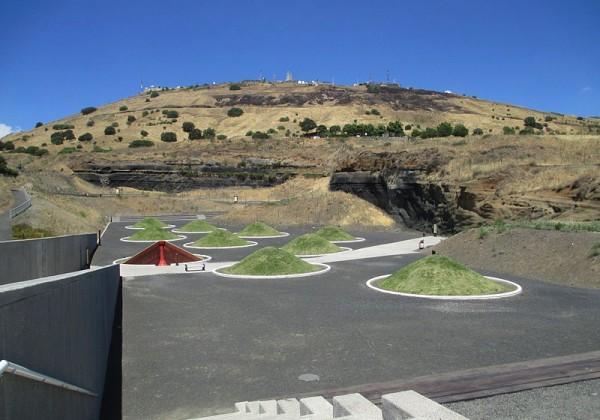 הרי געש והתפרצויות וולקניות בפארק אביטל